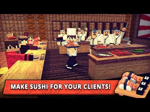 Sushi Craft: Best Cooking Games - Food Making Chef Android Gameplay