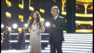 "Video Sarah Brightman & Andrea Bocelli - ""Time To Say Goodbye"" - live on German TV, April 13, 2013 MP3, 3GP, MP4, WEBM, AVI, FLV Februari 2019"