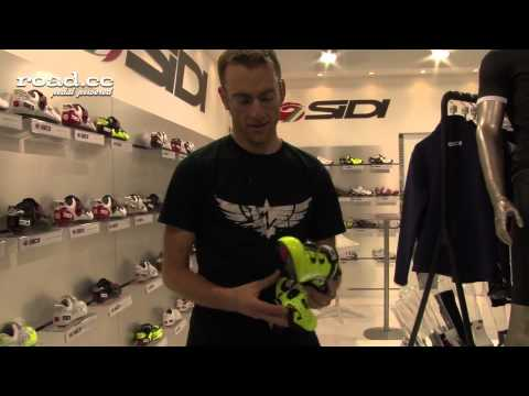 Sidi Shoe covers EuroBike 2013