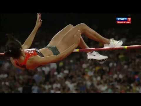 Marie-Laurence JUNGFLEISCH 199cm HIGH JUMP WORLD CHAMIONSHIP Beijing 2015 women final