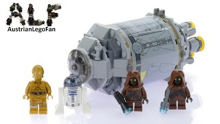 Lego Star Wars 75136 Droid™ Escape Pod - Lego Speed Build Review