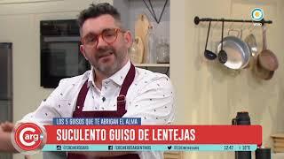 A - Cocina tradicional: guiso de lentejas