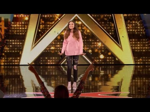 "Singer 15-Year-Old Performs ""Warrior' by Demi Lovato Get Golden Buzzer From Heidi Klum"