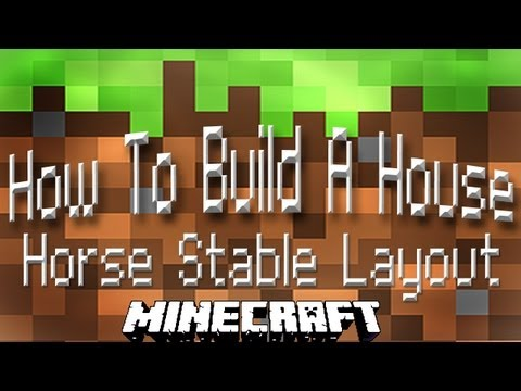 Minecraft Horse Stable Design