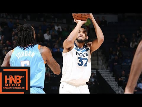 LA Clippers vs Minnesota Timberwolves Full Game Highlights  March 20  2017-18 NBA Season