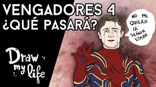 ¿QUÉ PASARÁ después de INFINITY WAR? Teorías de VENGADORES 4 - Draw My Life en Español