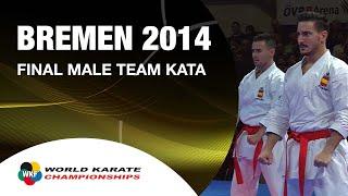 Video Final Male Team Kata SPAIN. 2014 World Karate Championships MP3, 3GP, MP4, WEBM, AVI, FLV Februari 2019