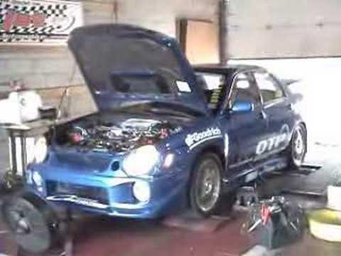 Subaru WRX Dyno Fail