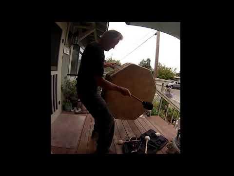 Rebuilt  Powow Drum