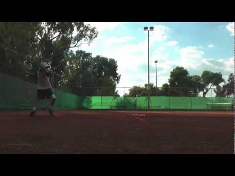 Top Junior Tennis Player – Yovan Lambros – Goin All Out In Practice! Watch In HD!