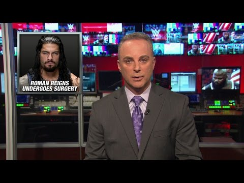 Dr. Chris Amann provides a medical update on Roman Reigns