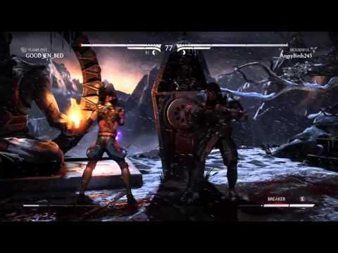 Mortal Kombat X : Kitana Mournful Online Ranked - #21 (видео)