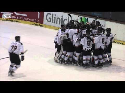 Kassel Huskies - Löwen Frankfurt 2:3 n.P. (09.02.2014) (видео)
