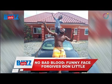 No bad blood: Funny Face forgives Don Little