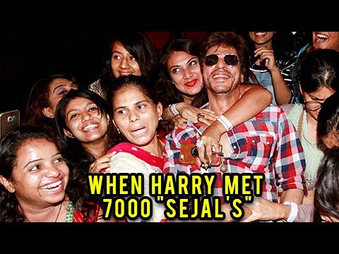 Radha Song Launch | Shahrukh Khan Met 7000 'Sejal'