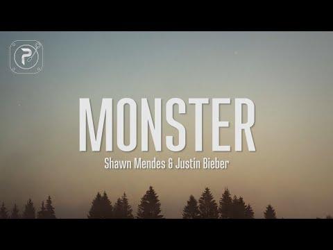 Shawn Mendes - Monster (Lyrics) FT. Justin Bieber