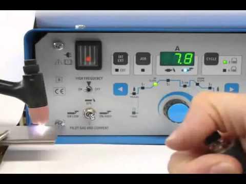 Dual Arc 82 HFP Micro Tig Micro Plasma Welding Machine.AVI