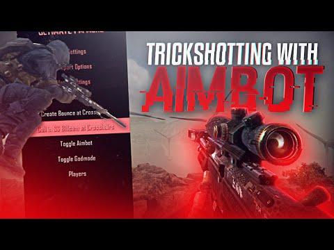 TRICKSHOTTING WITH AIMBOT!!
