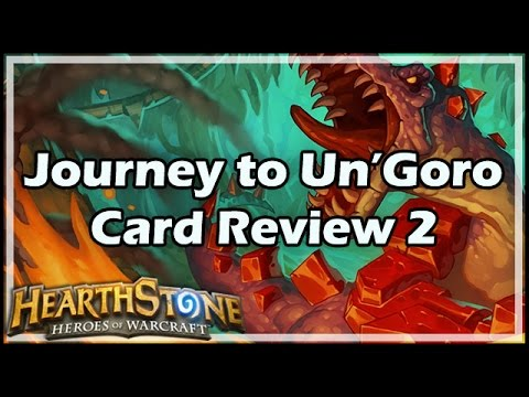[Hearthstone] Journey to Un'Goro Card Review 2 (видео)
