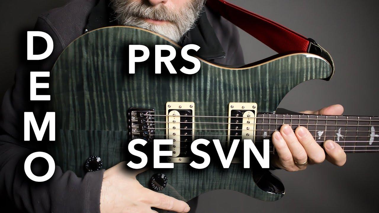 PRS SE SVN 7-String Guitar Demo / Review