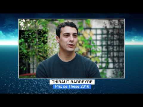 Thibaut BARREYRE - Lauréat 2016 Médailles Albert Ier - Prix de la thèse
