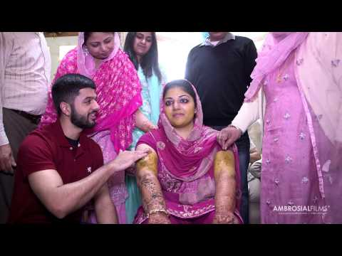 Punjabi Wedding Sangeet Mendhi And Vatna | The Eastonian | Sharan And Kanwar | Ambrosial Films