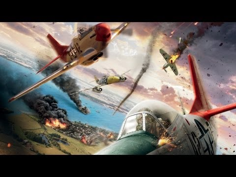 FMS P51 Mustand Red Tail Movie