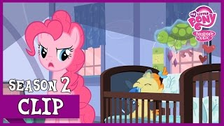 Download Video Pinkie Loses Control of the Twins (Baby Cakes) | MLP: FiM [HD] MP3 3GP MP4