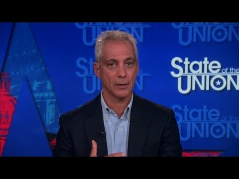 Rahm Emanuel full State of the Union interview