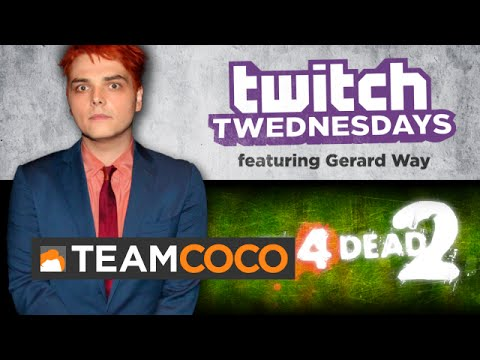Way - Gerard Way and Conan join Aaron Bleyaert for some good old fashioned zombie killing. More CONAN @ http://teamcoco.com/video Team Coco is the official YouTube channel of late night host Conan.