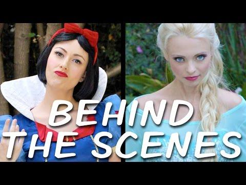 Video SNOW WHITE vs ELSA Behind the Scenes (Princess Rap Battle) download in MP3, 3GP, MP4, WEBM, AVI, FLV January 2017