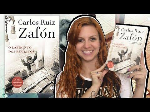 Cemitério dos Livros Esquecidos - Resenha de Labirinto dos Espíritos - Carlos Ruiz Zafón