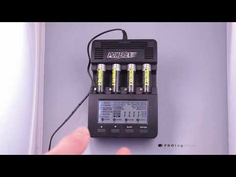 Видео Зарядное устройство Powerex MAHA MH-C9000, арт. 1302