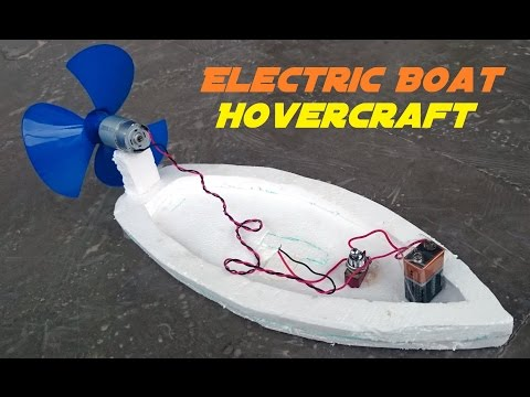 Video How to Make an Electric Boat - Homemade Hovercraft download in MP3, 3GP, MP4, WEBM, AVI, FLV January 2017