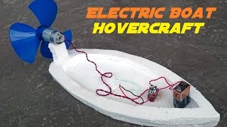 Video How to Make an Electric Boat - Homemade Hovercraft MP3, 3GP, MP4, WEBM, AVI, FLV September 2018