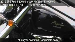 6. 2012 250 Fuel Injected cruzer GV250  - for sale in Forked Ri