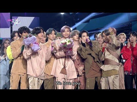 BTS Winning Moment [ENG SUB / Music Bank  2020.02.28]