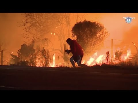 Mira este viral y desesperado rescate en incendio de Estados Unidos (VIDEO)