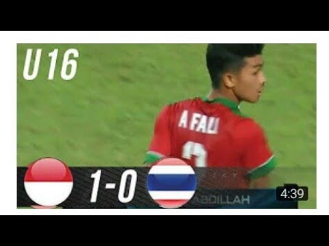 Download Video Indonesia U-16 Vs Thailand U-16 1-0 FULL HIGHLIGHT AND GOALS  21 September 2017