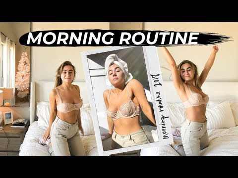 WINTER MORNING ROUTINE 2018 | Julia Havens