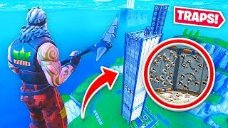 IMPOSSIBLE FORTNITE TRAP TOWER (Fortnite Creative)
