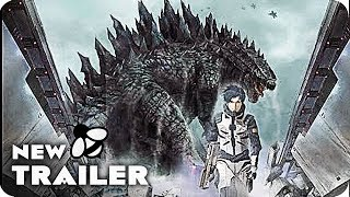 VIDEO: GODZILLA MONSTER PLANET – Teaser Trailer. Japanese Anime Movie 2017