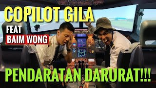 Video PENDARATAN DARURAT TANPA PERSIAPAN - COPILOT TIBA2 GILA MATIKAN MESIN Ft. BAIM WONG - KOMEDI TERBANG MP3, 3GP, MP4, WEBM, AVI, FLV April 2019