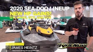 4. SEA-DOO 2020 Lineup gets some additional HP!
