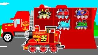 Color thomas train transportationPrevious funny videos:Car Transportation & Mack Truckhttps://youtu.be/gubNr9a4-wANumbers with bulldozer on truckhttps://youtu.be/7i70WCqY3qYColor offroad carhttps://youtu.be/oa8j6mN188wPlanes on truckhttps://youtu.be/ft-WlopH7vQColor bus on carhttps://youtu.be/O7rsypQiXkQ