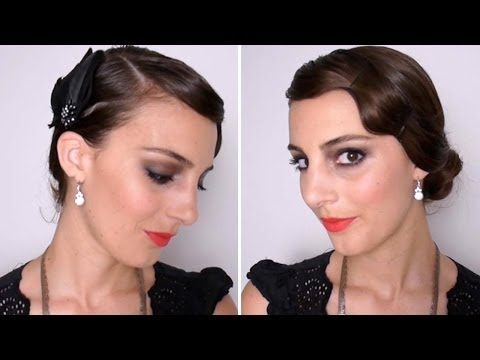 Tutoriel Maquillage et Coiffure Années 20