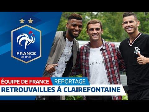 Video Equipe de France : Les Champions du Monde de retour à Clairefontaine I FFF 2018 download in MP3, 3GP, MP4, WEBM, AVI, FLV January 2017
