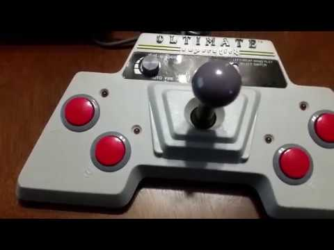 A game play look at the Beeshu Ultimate Superstick joystick for the Atari 2600 VCS