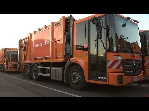 Berlins Müllabfuhr steht still - sechs Prozent mehr G ...