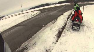 2. Arctic Cat 2015 xf 6000 sno pro first ride